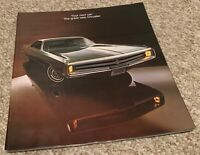 Vintage 60s Chrysler Color Automobile Car Catalog Brochure Mid Century Modern