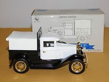 Vintage Liberty Classic Ford Model A Pickup Bank Metal Truck Nos New In Box