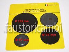 PIATTELLI SPARTIFIAMMA REX 4 FUOCHI ELECTROLUX 50247380004 PIANO COTTURA 4 PEZZI