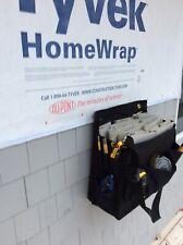 Save your back shingle sack - Construction tool bag. Wood shingle tools roofing