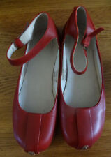 Dr Marten Red Ankle Strap Shoes 6 New