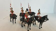 5 Metal Toy Soldiers- Mounted Cavalry (159)