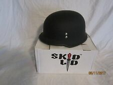 Skid-lid motor cycle helmet flat black size Medium M KS750 German style