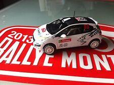 Decal 1 43 PEUGEOT 208 R2 N°95 Rally WRC monte carlo 2013 montecarlo