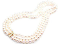 Pearl Yellow Gold 14k Fine Necklaces & Pendants