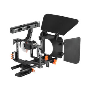 Andoer C500 Aluminum Alloy Camera Camcorder Video Cage Rig Kit Film Making L5G5