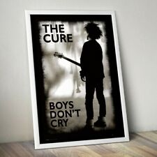 More details for the cure poster, boys don't cry print, rock band print, wall art