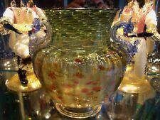 Antique Venetian Salviati Murano circa 1890 Mythological Dragon Baluster Vase