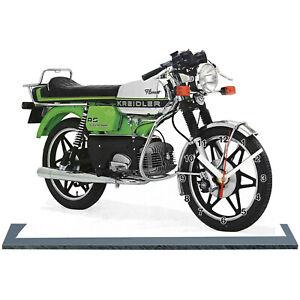 MINIATUR MODELL MOTORRAD in der Uhr, KREIDLER -01