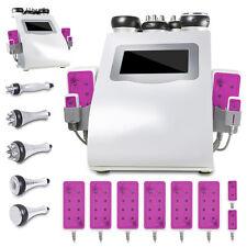 6in1 Cellulite Removal Cavitation Tripolar RF Vacuum Lipo Laser Slimming Machine