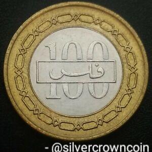 Bahrain 100 Fils 2000 AH1420. KM#20. Bimetallic 100 Cents coin.