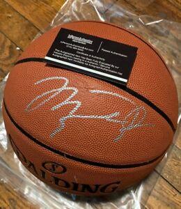 Michael Jordan autographed signed NBA Basketball with COA