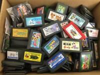 Junk Game Boy Advance random Lot 50 Nintendo Cartridge Gameboy GBA for parts