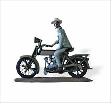 Triciclo Editores 1:32 WWII motorcycle Motosacoche Dutch Colonial Troops SMI040