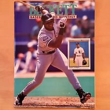 Beckett Baseball Card Monthly #79 October 1991 Thomas White Sox Winfield Angels