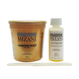 Mizani Sensitive Scalp Relaxer Single Application Kit
