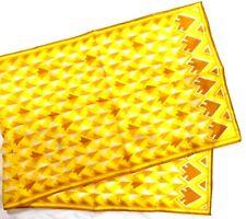 "Vera Ladies Polyester Scarf 14"" X 44"" Multiple Color Geometric Arrows"