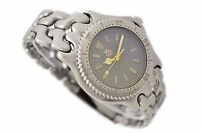 Vintage Tag Heuer SEL Serie De Acero Inoxidable Cuarzo Reloj para hombre S95.206M/E 710