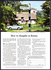 1963 Sunbeam Alpine photo 1967 Essex Britain Travel Tourism vintage print ad
