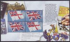 Gran Bretaña - 2008 'James Bond' descosido folleto panel-Um/estampillada sin montar o nunca montada