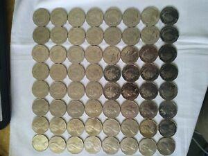 Australian 50 cent coin collection 1966 to 2021 circ coins set High Grade 50c