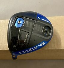 Left Handed Used Cobra King F6 Blue Driver MyFly Loft HEAD ONLY Golf Club