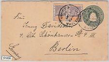 51836 - British Guiana -  POSTAL HISTORY - STATIONERY COVER to BERLIN 1900