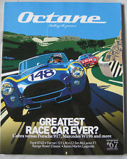 Octane 01/2009 featuring Ferrari, Aston Martin Lagonda, Ford GT40, Lancia