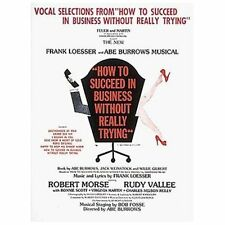 How to Succeed in Business Without Really Trying (Vocal Selections)-ExLibrary