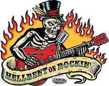 Hellbent On Rockin Sticker Decal Artist Vince Ray VR49
