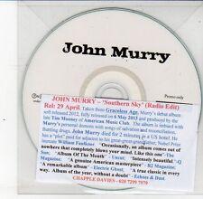 (DS620) John Murry, Southern Sky - DJ CD