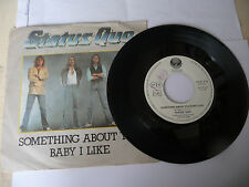 "STATUS QUO""SOMETHING ABOUT YOU-disco 45 giri VERTIGO Italy 1980"""