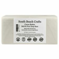 2 lbs Cocoa Butter Melt And Pour Soap Base DIY Making Supplies
