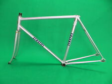 Stratos Silver NJS Keirin Frame Track Bike Fixed Gear 52.5cm