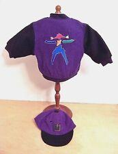American Girl Today Girl Varsity Jacket & Cap Pleasant Co 1995