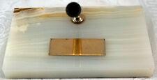 Variegated Onyx Pen Holder for Sheaffer's Pen Not Engraved