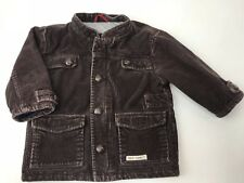 Baby Gap Coat Jacket Brown Corduroy Lined Toddler Boy 18-24 Months