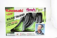 KAWASAKI  WALKIE TALKIES ... LISTEN AND TALK AT THE SAME TIME! FREE SHIPPING