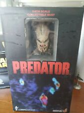 Hot Toys HTB 02 Predator Bust 10 inches Tall 1/4 Scale NEW Rare (LM)