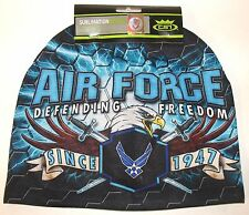 Sublimation Air Force Officially Licensed Stocking Hat Cap Beanie Fleece Lined