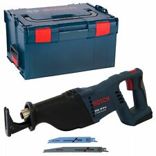 Bosch Akku Säbelsäge GSA 18 V-Li SOLO + L-Boxx Gr. 3 238 ohne Akkus/Ladegerät