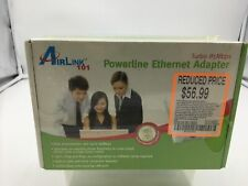 Airlink 101 Powerline Turbo 85Mbps Homeplug Ethernet Adapter
