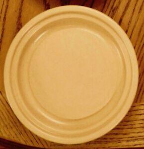 Pfaltzgraff Terrace Buttercream Round Butter Base Plate Stoneware Pottery NLA