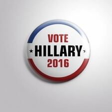 HILLARY CLINTON 2016 PRESIDENTIAL ELECTIONS nº2 -  Pinbacks Badge Button 2 1/4""