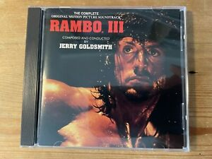 RAMBO III (Jerry Goldsmith) OOP 1988 Intrada RVF Score Soundtrack CD NM