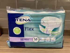 3x Tena Flex Maxi Unisex Adult Incontinence Pant Underwear Size Medium 66 Pants