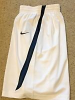 Nike Womens Team Condition Game BASKETBALL SHORTS - 554701 White/Navy L XXL  $45