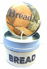 Bread (Fresh Baked) - 4oz Hand Made Soy Candle Travel Tin - Approximate Burn Tim