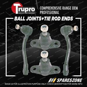 Trupro Ball Joint Tie Rod End Kit for Kia RIO JB Sedan Hatch 8/2005-4/2011