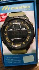 Marathon by Timex Men's Digital 50mm Green/Black/ Resin Strap Watch TW5m21100wz